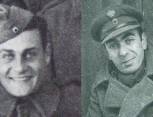 Κωνσταντάρας και Παπαγιαννόπουλος στην πρώτη γραμμή του πολέμου το '40