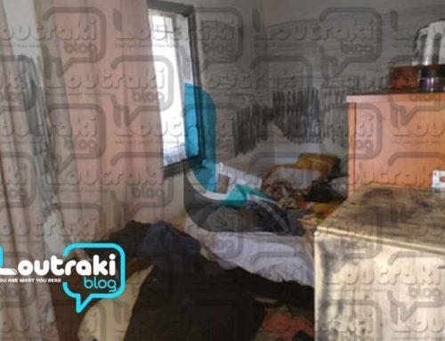 Δολοφονία στο Λουτράκι: Βίντεο και εικόνες που σοκάρουν από το σπίτι της στυγερής δολοφονίας (ΠΡΟΣΟΧΗ σκληρές εικόνες)