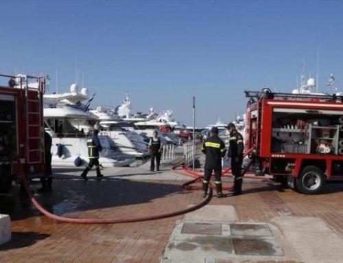 Πειραιάς: Έκρηξη σε σκάφος στη Μαρίνα Ζέας