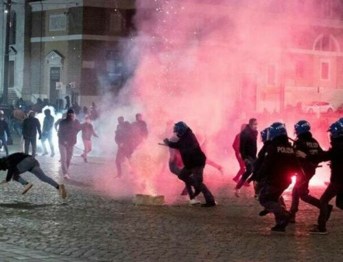 Ρώμη: Επεισόδια κατά της απαγόρευσης κυκλοφορίας