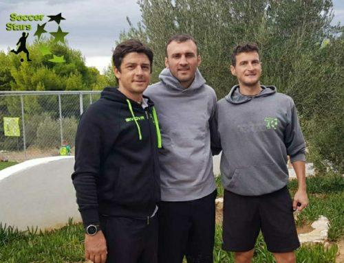 Λουτράκι: Ο Βασίλης Τοροσίδης εμπιστεύεται τη σχολή ποδοσφαίρου Soccer Stars