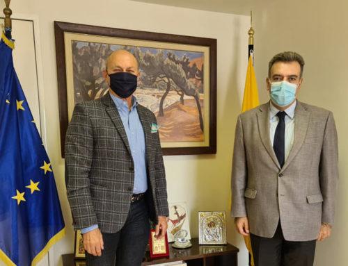 Δείτε ποια θέματα συζήτησαν ο Γιώργος Γκιώνης με τον Υφυπουργό Τουρισμού