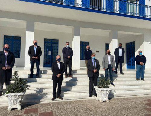 Συνάντηση Ταγαρά, Νίκα,Γκιώνη, ΙΓΜΕ για τη Διώρυγα της Κορίνθου (φωτο)