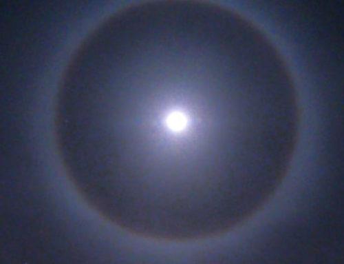 Εντυπωσιακό! Το φωτοστέφανο του φεγγαριού ορατό στην Κορινθία (φωτο)
