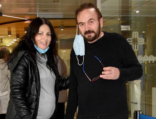 Σταμάτης Γονίδης: Εξιτήριο πήρε η γυναίκα και η νεογέννητη κόρη του από το μαιευτήριο