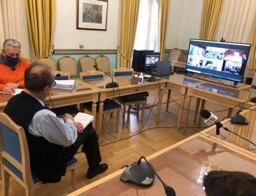 Τηλεδιάσκεψη για την διώρυγα: Αποφασίστηκαν τεχνικές μελέτες για το θέμα των πρανών και περίφραξη κατά μήκος
