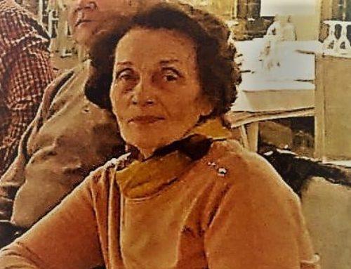 Λουτράκι: H Λόλα Ζόγκα αποχαιρετά τη Ρούλα Ζόγκα-Τασσιοπούλου