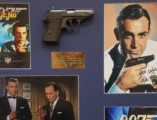 Το πιστόλι από την πρώτη ταινία «Τζέιμς Μποντ» πουλήθηκε 256.000 δολ.
