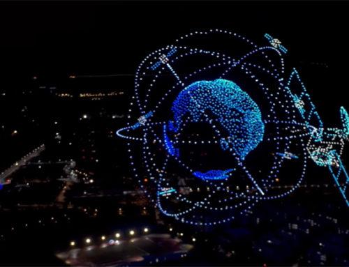 Ρεκόρ Γκίνες: 3.051 drones δημιουργούν μια οπτική πανδαισία στον ουρανό της Κίνας