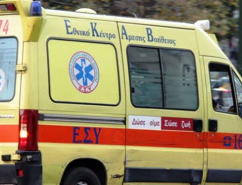 Αυτοκίνητο συγκρούστηκε με μηχανή στις Κεχριές – Στο Νοσοκομείο Κορίνθου ο οδηγός