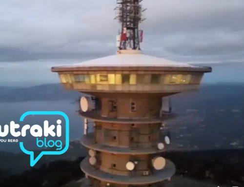 Υπέροχο Video ! Δείτε εικόνες από την κορυφή των Γερανείων