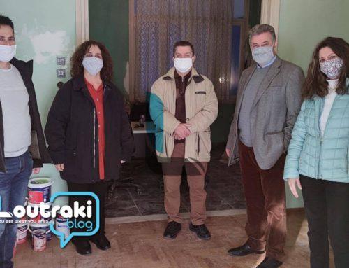 Κόρινθος: Επίσκεψη του Βασίλη Νανόπουλου στο χώρο του Σωματείου ΦΑΣΜΑ (φωτο)