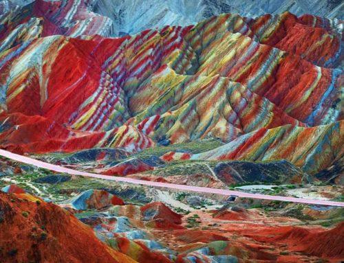 Το βουνό που μοιάζει με Ουράνιο Τόξο – Πως δημιουργούνται τα επτά χρώματα του