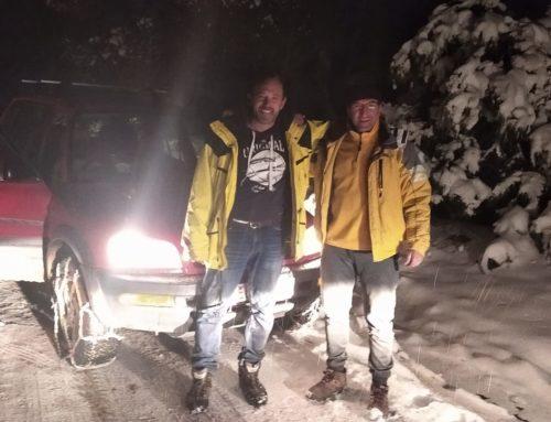 Λουτράκι: Αυτοκίνητα ακινητοποιήθηκαν στα χιόνια (Video-φωτο)