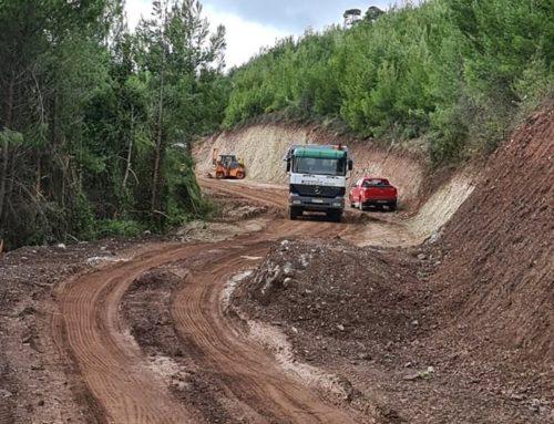 Εργα αγροτικής οδοποιίας στην Περαχώρα Λουτρακίου