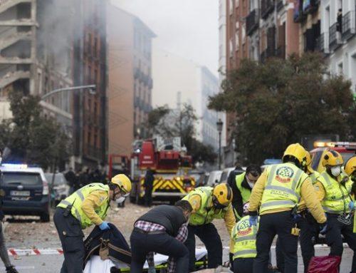 Τουλάχιστον δύο νεκροί από έκρηξη στη Μαδρίτη (φωτο-video)