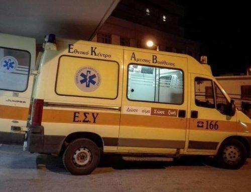 Κορινθία: Χωρίς τις αισθήσεις ανασύρθηκε γυναίκα από τροχαίο στο Βέλο