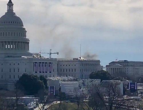 Συναγερμός στο Καπιτώλιο: Καπνός σε παρακείμενο κτίριο