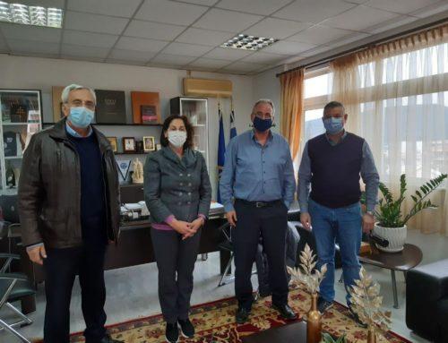 Νεμέα: Συνάντηση δημάρχου με Κόρκα και Βυτινιώτη