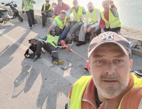 Λουτράκι: Ξανακαθαρίζουν οι Εθελοντές εν δράσει (φωτο)