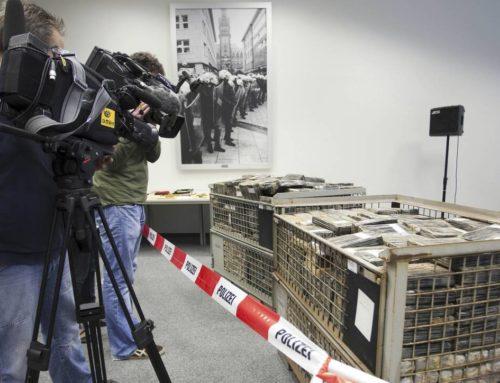Κατασχέθηκε ποσότητα – μαμούθ κοκαΐνης αξίας 600 εκατ. ευρώ λίγο πριν καταλήξει στην Ολλανδία