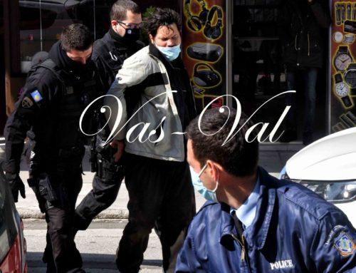 Λουτράκι: Στον Εισαγγελέα ο δράστης. Ηθελε να σκοτώσει τον αστυνομικό (φωτο)