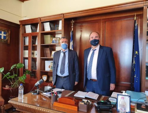Συνάντηση Γκιολή με τον καθηγητή Καρδιολογίας Δημήτρη Τούσουλη