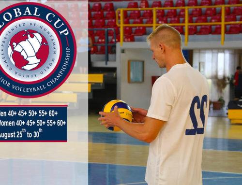 Global Cup 2021: Διοργάνωση Παγκόσμιου Τουρνουά Βόλεϊ Παλαιμάχων στο Λουτράκι