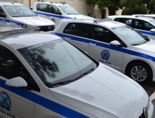 Η Αστυνομική Διεύθυνση Κορινθίας ενισχύθηκε με 6 οχήματα