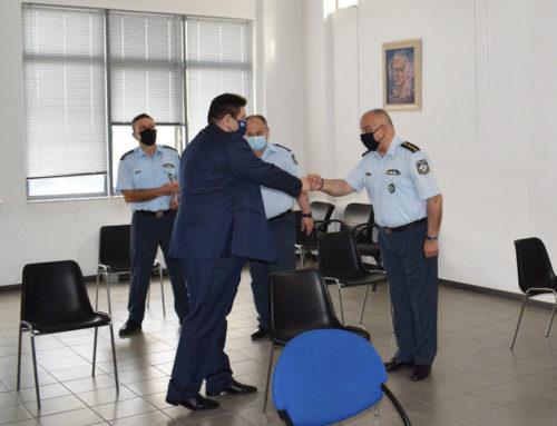 Επίσκεψη του Αρχηγού της ΕΛ.ΑΣ. στη Γενική Περιφερειακή Αστυνομική Διεύθυνση Πελοποννήσου