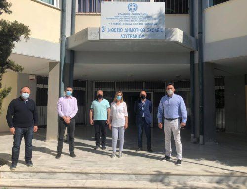 Δωρεά υπολογιστών και εκτυπωτών στα σχολεία του δήμου Λουτρακίου-Περαχώρας-Αγίων Θεοδώρων