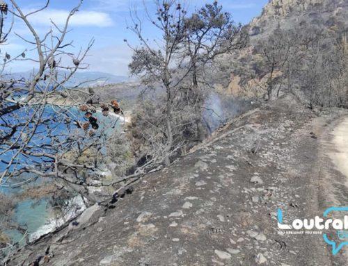 Η καταστροφική πυρκαγιά στο Λουτράκι επιβεβαίωσε την ανεπάρκεια του μηχανισμού δασοπυρόσβεσης
