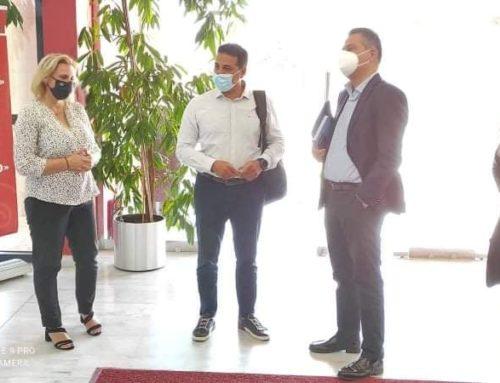 L.T.O: Συνάντηση Σπύρου Καραβούλη, Μαριλένας Σούκουλη και Γιώργου Στεργίου για τουριστικά θέματα