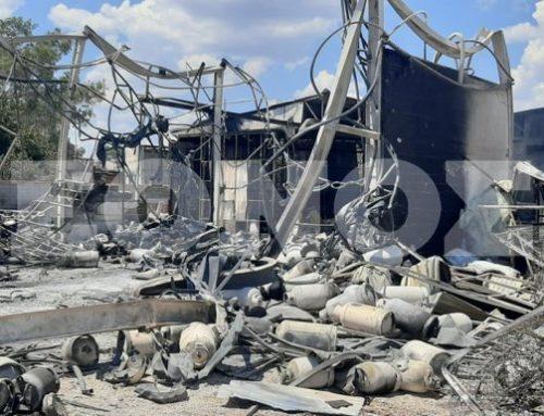 Ασπρόπυργος: Η έκρηξη του βυτιοφόρου διέλυσε 15 αυτοκίνητα