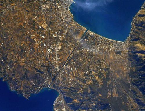 Αστροναύτης φωτογράφισε τον Ισθμό Κορίνθου από το διάστημα