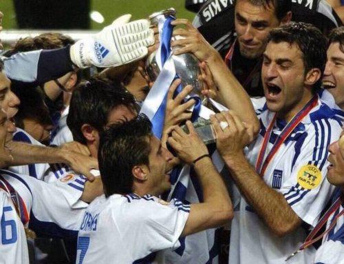 Σαν σήμερα, 4 Ιουλίου 2004, η Εθνική Ελλάδος στέφεται πρωταθλήτρια Ευρώπης
