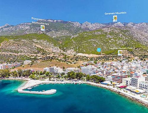 360 Virtual Tour του LTO σε Δήμο Λουτρακίου, Περαχώρας, Αγίων Θεοδώρων