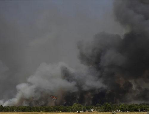 """Δήμαρχος Αχαρνών: """"Αν δεν έρθουν περισσότερα πυροσβεστικά οχήματα θα καούν σπίτια στη Βαρυμπόμπη"""""""