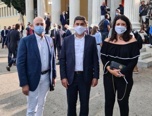 Στο Ζάππειο ο δήμαρχος Γιώργος Γκιώνης για την οδική ασφάλεια του Ράλλυ Ακρόπολις (φωτο)