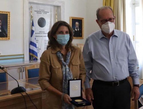 Συνάντηση με την επικεφαλής του ΟΠΕΚΑ είχε ο Περιφερειάρχης Πελοποννήσου