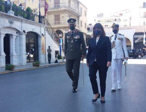 Η Πρόεδρος της Δημοκρατίας στις εκδηλώσεις για την «Άλωση της Τριπολιτσάς»