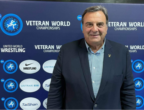 Κούβελος: «Εμεινα κατάπληκτος από το Παγκόσμιο πρωτάθλημα Πάλης στο Λουτράκι»