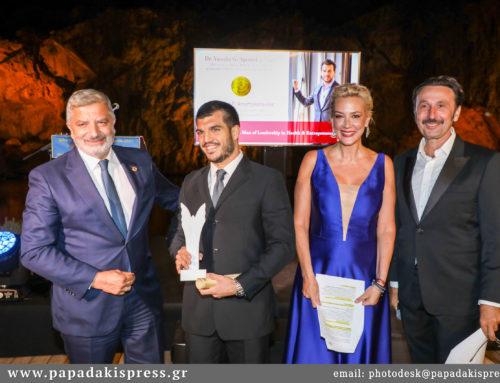 Λαμπερή βραδιά στην τελετή απονομής βραβείων «Ελλάδα, ο Κόσμος Όλος!» στη Λίμνη Βουλιαγμένης