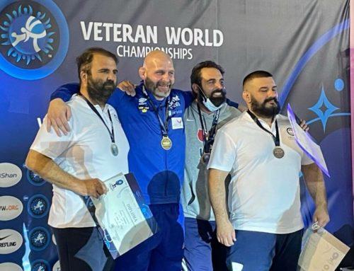 Παγκόσμιος πρωταθλητής ο Μπεντινίδης στη διοργάνωση των βετεράνων στο Λουτράκι